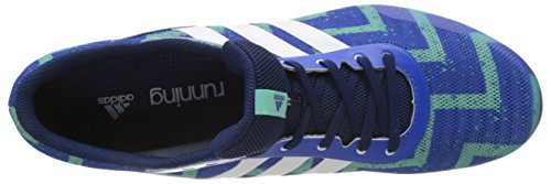 Adidas ftwr easy White S17 Running De Green blue Homme Chaussures Multicolore Distancestar Entrainement rvB81r