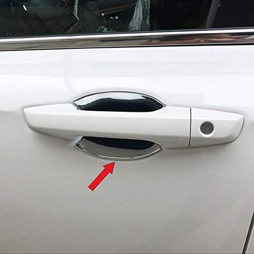 Beautost For Honda 2017 2018 2019 CR-V CRV Chrome Door Bowl Handle Cover Trims ()