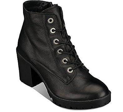 sports shoes 96ce8 44335 Oxmox Damen Schnürstiefelette (38): Amazon.de: Schuhe ...