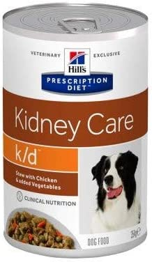 Hill Prescription Diet Canine k/d Kidney Care Stew Chicken 12 x 354g Dietetic Wet Food Adult Dogs Kidney Problems Supporting Kidney & Heart Function Appetite & Muscle Mass – Dogs Corner