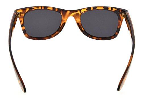 polarizadas Clásico sol 80 de los Grey de años Tortoise vendimia de Eyekepper la gafas Lens 8TxaqwEU