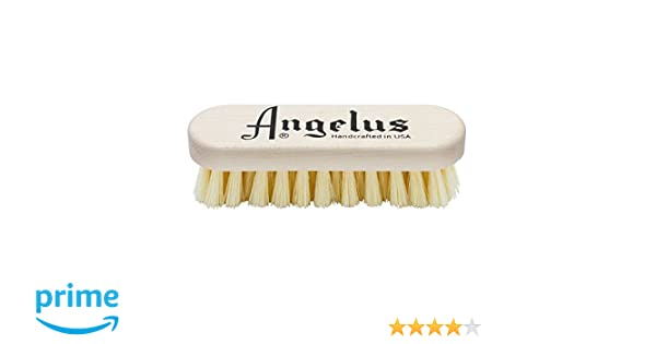 Angelus Premium Sneaker Cleaning Brush Wood Made In U.S.A.