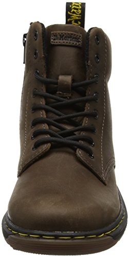Dr. Martens Unisex-Kinder Malky Y Dark Brown Wyoming Stiefel Braun (Dark Brown)