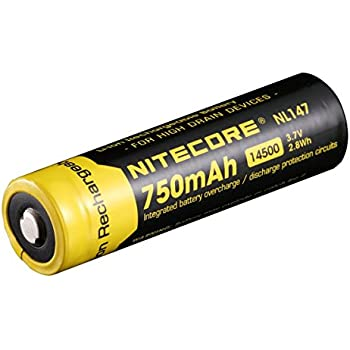 Nitecore NL147 14500 Li-Ion Battery