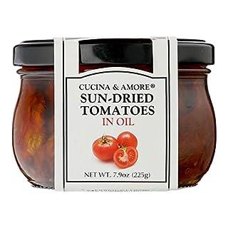 Cucina & Amore Sun-Dried Pesto Alla Siciliana Tomatoes in Oil 7.9 Ounce