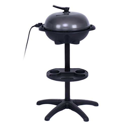 Giantex 1350W Electric BBQ Grill Non-stick w/ 4 Temperature Setting Outdoor Garden Patio Camping by Giantex (Image #2)