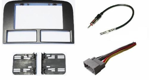 Price comparison product image Jeep Grand Cherokee WJ 2002-2004 Double Din Aftermarket Radio Stereo Navigation Bezel