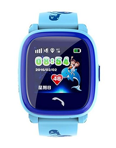 DF25 impermeable GPS reloj inteligente Kids Swim IP67 Smartwatch ...