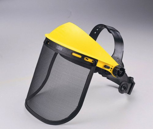 Zenport FS825-10PK Adjustable Wire Mesh Visor Face Shield Protective Face Wear44; Box of 10