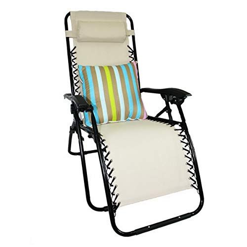 Kaputar Lounge Chair Recliner Patio Oudoor Chair+2in1 Pillow and Blanket Combo Set | Model CMPNGCHR - 51 | 2in1 Blanket/Pillow Design - Rainbow