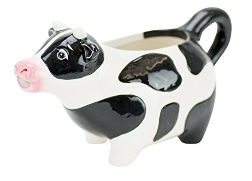Hand Painted Milk - Boston Warehouse Udderly Cow Creamer, Hand Painted Ceramic