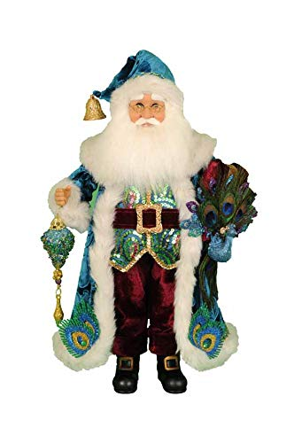 Karen Didion Peacock Santa