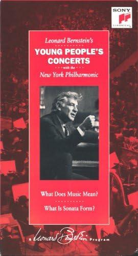 Amazon.com: Leonard Bernstein's Young People's Concerts - Sampler Set  [VHS]: Bernstein, Leonard: Movies & TV