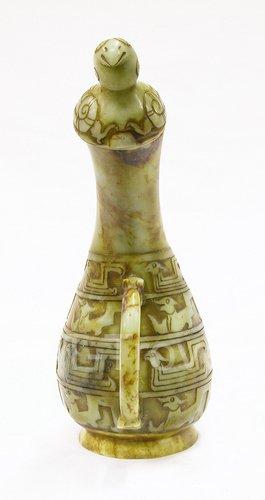 Jade Carving Gourd Wine Vessel