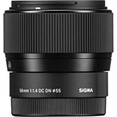 Focal Length: 56mmAperture Range: f/1. 4 to f/16Sony E-Mount Len saps-C Image Sensor Format Smallest Mid-Tele Lens in Class Smooth AF Ideal for Video Shootings Glass Element Corrects Axial Color Aberration Stepping Motor Enables Smooth and Qu...