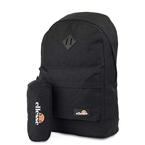 6cccdb49f17a ELLESSE Fonza Backpack Black School Bag SHAU0484 - FREE PENCIL CASE - Buy  Online in Oman.