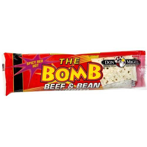 Don Miguel Pinata Cheese and Red Chili Beef Burrito, 14 Ounce -- 12 per case. ()