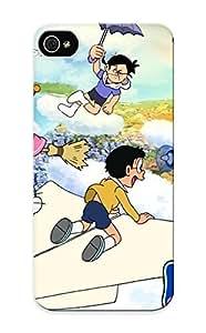 [BUNmyI-4556-UYSMC]premium Phone Case For Iphone 5/5s/ Anime Doraemon Tpu Case Cover(best Gift Choice)