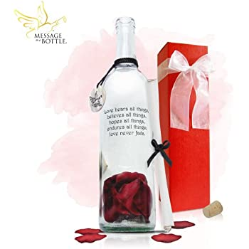 "Message in a Bottle ® ""TRUE"" Personalized Gift"