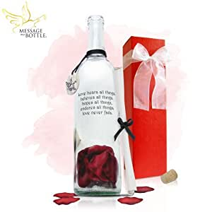 """Message in a Bottle ® """"TRUE"""" Personalized Gift"""