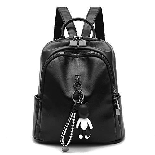 WSZMD Business Laptop Backpack Notebook Rucksack Shoulder Bag Female Korean Fashion Casual Wild School Bag Lady Backpack Female Summer XXPP (Korean Laptop Case)