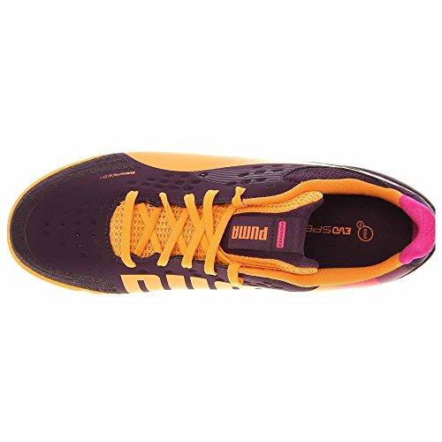 PUMA Mens Evospeed 1.2 Sala Soccer Shoe Purple zho1G3OP