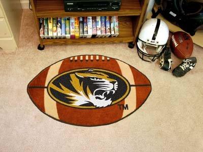 Missouri Football Rug 22