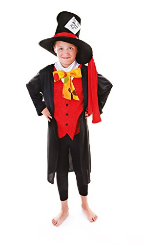134cm Boys Mad Hatter Costume - Mad Hatter Uk Costume
