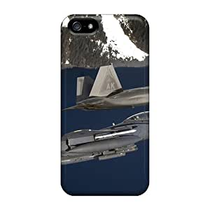 Snap-on Eagle Raptor At Elmendorf Case Cover Skin Compatible With Iphone 5/5s