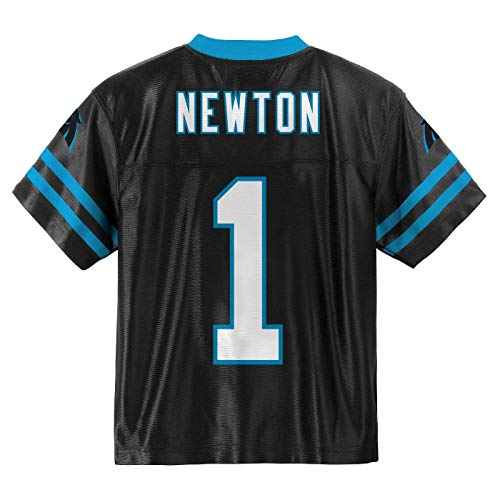 (Outerstuff Cam Newton Carolina Panthers #1 Black Youth Home Player Jersey (Small 8))