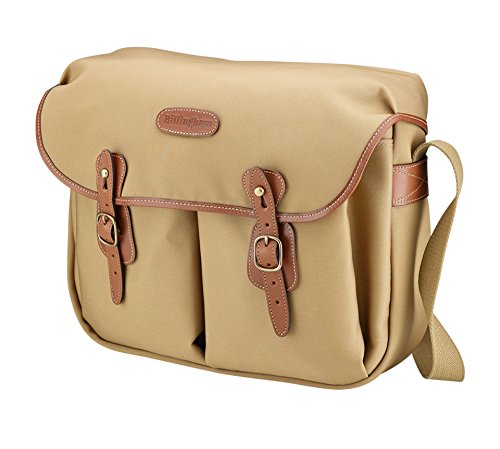 - Billingham Hadley Shoulder Bag Large - Khaki Canvas/Tan Leather