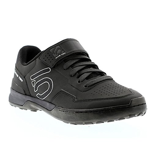 Five Ten Men's Kestrel Lace Mountain Bike Shoes (Clipless, Carbon Black, 9.5)