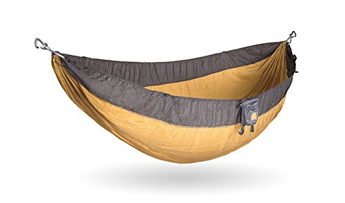 Kammok Roo Camping Hammock (Half-Moon Purple) - The World's Best Camping Hammock