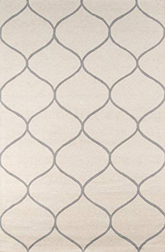 Momeni Rugs Newport Collection Area Rug, 9 0 x 12 0 , Ivory