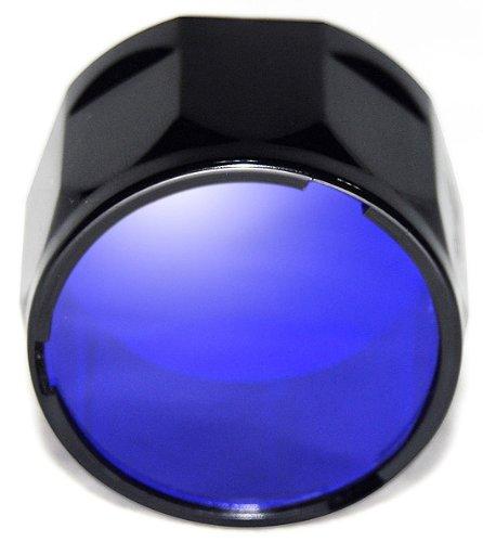 Fenix Filter Adapter- Fits specific TK Models (Blue) by Fenix Flashlights