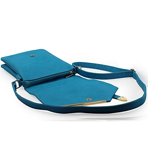 Bag over MKF Crossbody Handbag Flap Jasmine Woman Vintage Coffee Fashion Stylish Collection 4zBYzwTq