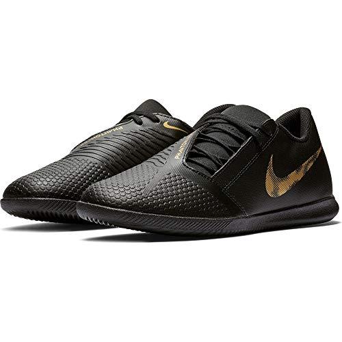 Nike Phantom Venom Club Indoor Soccer Shoe Black/Metallic Vivid Gold Size 7 M US