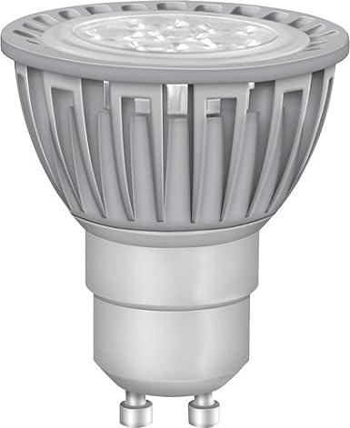 OSRAM Ampoule LED réflecteur GU10 Star PAR16 / 5W — puissance équivalente à une ampoule de 50 Watt, Spot LED / blanc chaud — 2700K, lot de 6 Spot LED / blanc chaud - 2700K LEDVANCE 4052899910454 lampe halogène ronde