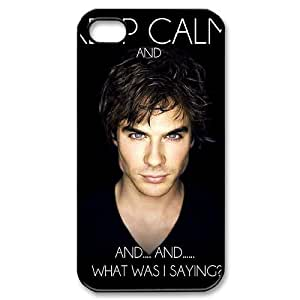 The Vampire Diaries Brand New Cover Case for Iphone 4,4S,diy case cover ygtg-339241 Kimberly Kurzendoerfer