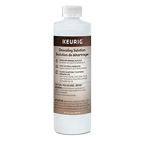 (Keurig Descaling Solution For All Keurig 2.0 and 1.0 K-Cup Pod Coffee Makers -  Packaging May Vary)
