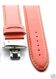 18mm Leather Deployment Strap for Omega Seamaster Planet O#2