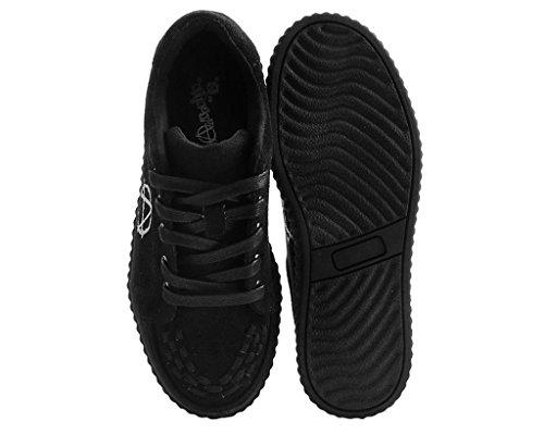 Casbah T Imitación Entrelazado Shoes Negro Mujeres Anárquico u Enredadera k Gamuza wFZZA
