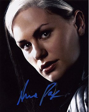 - ANNA PAQUIN (X-Men) 8x10 Female Celebrity Photo Signed In-Person