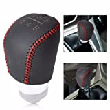 zzidc(TM) DIY 5 Speed MT Genuine Leather Gear Shift Knob Cover for Ford Focus 04-2015 2012