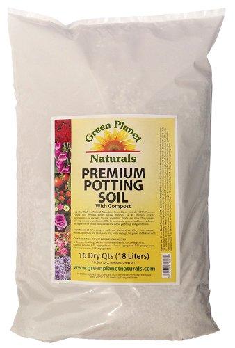Quality - Premium Potting Soil with Mycorrhizae Indoor /