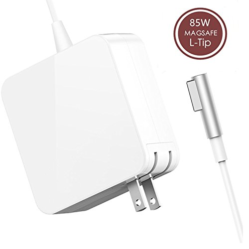 Macbook Pro Charger, Ac 85W MagSafe (L-Tip) Power Adapter Replacement for Macbook Pro with 15-inch or 17-inch Display-Before Mid 2012