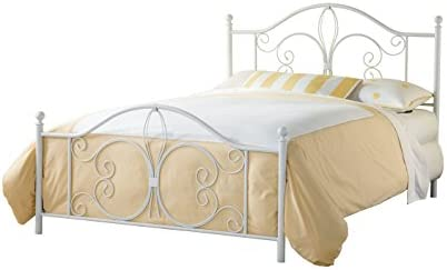 picture of Hillsdale Furniture Hillsdale Ruby Frame Queen Bed, White