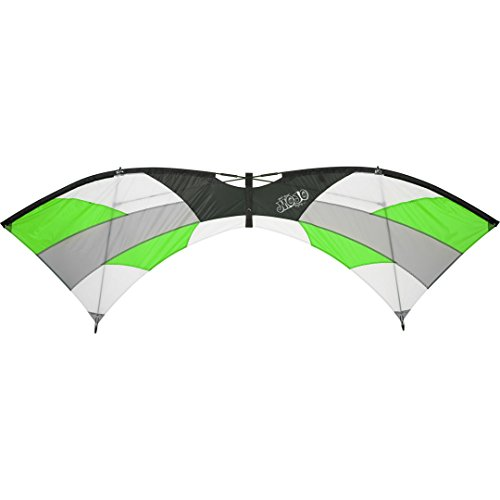 HQ Kites and Designs Mojo Jungle 87 Inch Quad Line Sport Kite - Stunt Kite - Active Outdoor Fun for Ages 12 and Older