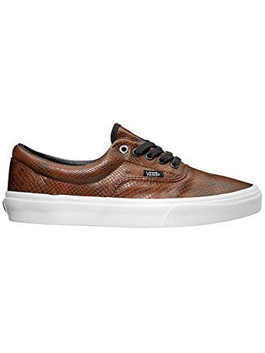 Vans Era Snake Brown Canvas Unisex Classic Adulto Zapatillas Black wvxqwB
