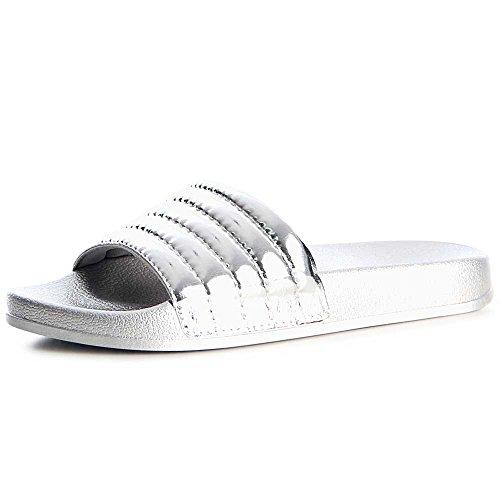 topschuhe24 - Sandalias de vestir de otros para mujer plata